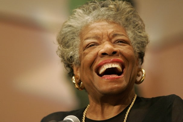 Maya Angelou -- the colored woman whose words still heal a thousand years of social wounds