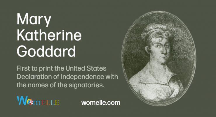 The Life and Accomplishments of Mary Katherine Goddard