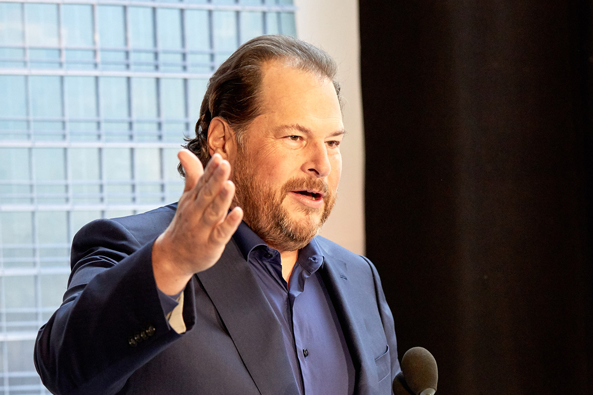 Top leadership advices of Salesforce CEO and founder Marc Benioff