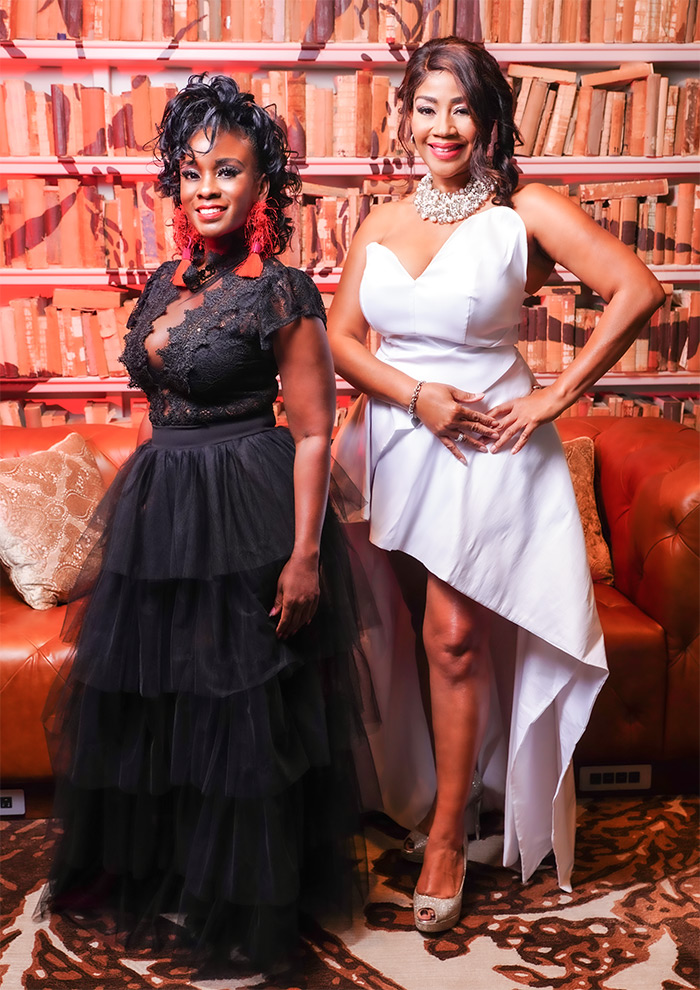 Dellesa Kirk-Johnson and Nicole Cummings: The Duo Who Made the Unique 'Sophisticated Out Loud' Model a Success